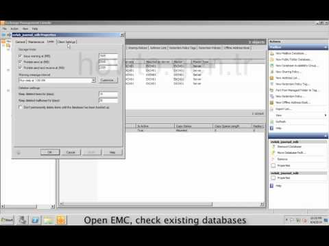 How to get Mailbox Database Size with Get-MailboxDatabase on Exchange