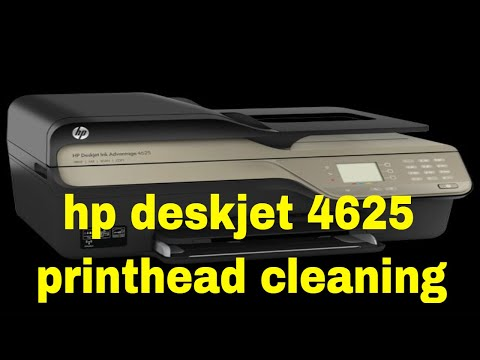 hp deskjet 4625 printhead cleaning