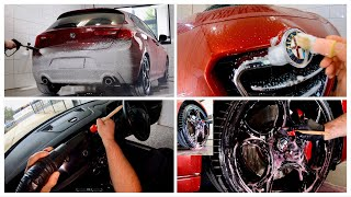 The Sweet Satisfying Sounds of Detailing - Giulietta Gets Cleaned!