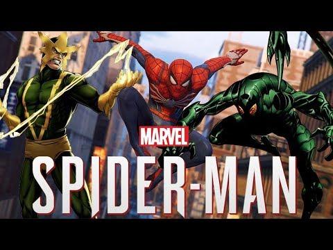 Spider Man PS4: All Villains So Far!