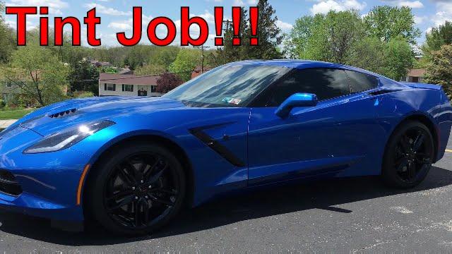 Tint My Ride!!! - 2016 C7 Corvette Stingray Z51