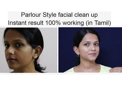 How to do facial clean up at home naturally, step by step for spotless, clear skin...