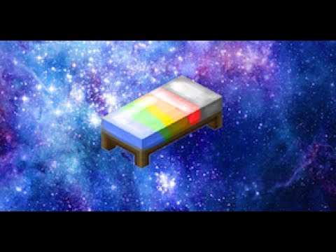How to make a Rainbow Bed in Minecraft