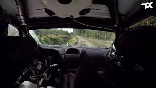 WRC Wales Rally GB SS20 Alwen Onboard
