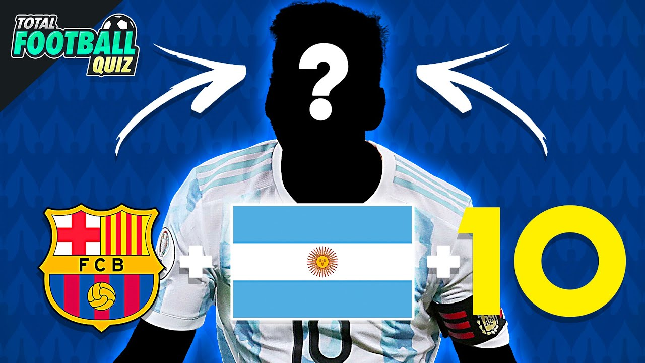 COPA AMERICA 2021 🔥 GUESS THE PLAYER: CLUB + NATIONALITY + JERSEY NUMBER   QUIZ FOOTBALL 2021