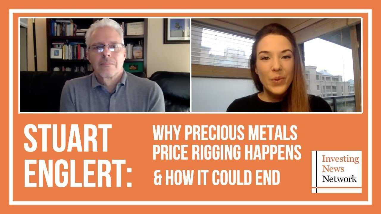 Stuart Englert: Why Precious Metals Price Rigging Happens, How it Could End