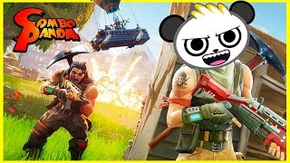 Fortnite with Combo Panda for the first time! Here we go, Combo Crew It