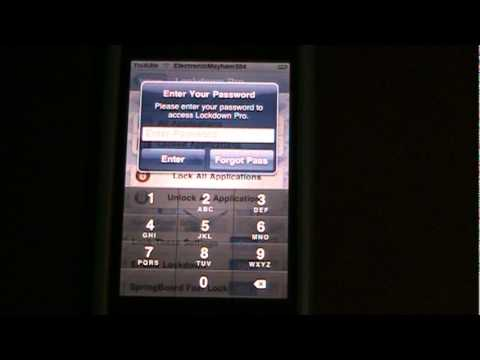 How to Password Protect Any App (Ipod Customizing)