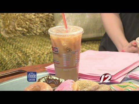 Dunkin' Iced Coffee truck