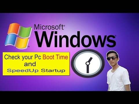 HOW TO Check BOOT Time And SPEED UP Startup