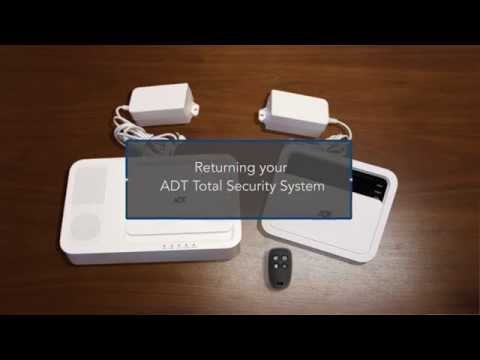 How To: ADT Total Security System Wall Mount Removal & Return