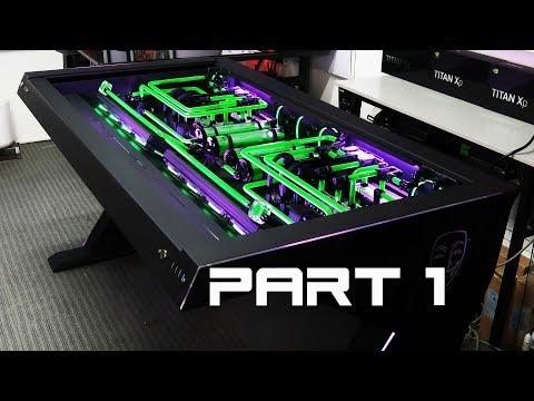 Custom Desk Pc Build #38
