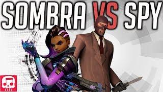 SOMBRA VS SPY RAP BATTLE by JT Music (Overwatch vs TF2)