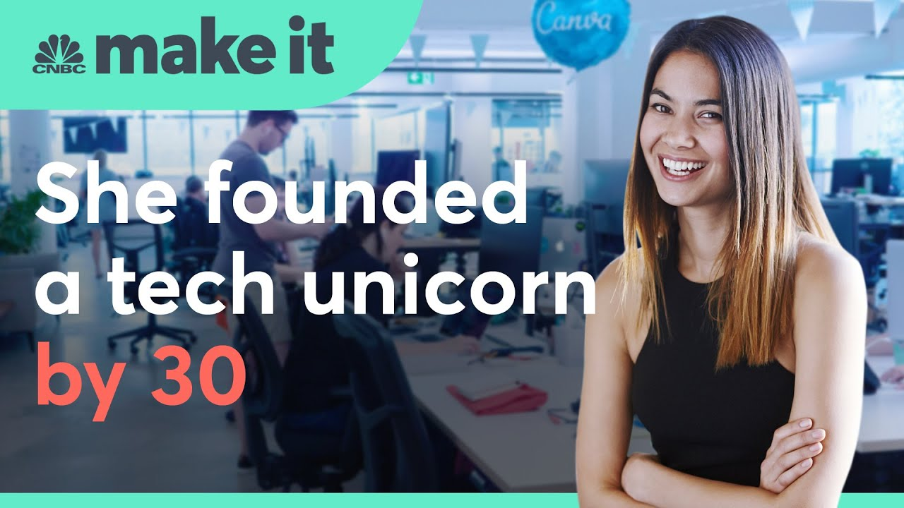 Canva: She founded a unicorn by 30. Now she's taking on the tech giants | Make It International