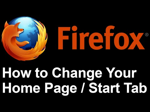 Firefox - How to Change Your Home Page in Mozilla Firefox