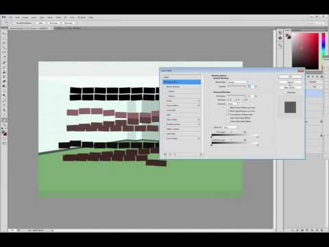 Photoshop: Quick Tip - Brick Wall Texture