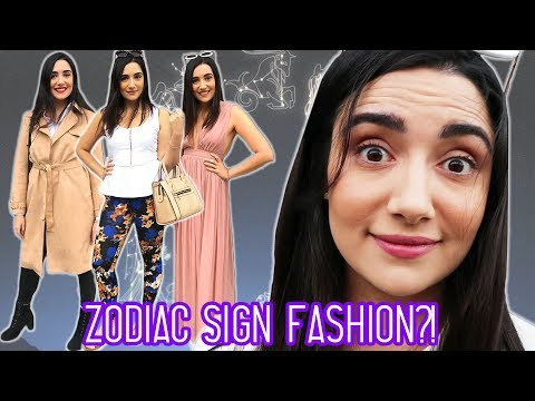 I Dressed According To My Zodiac Sign For A Week