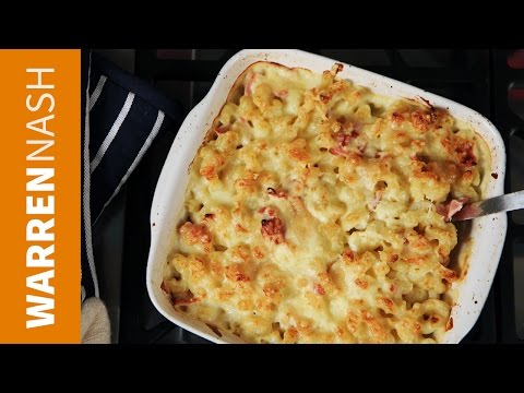 Baked Macaroni and Cheese - Best with Bacon - Recipes by Warren Nash