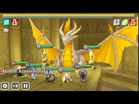 Summoners War - Dragons B7: 2 minute run (Auto)