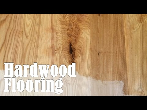 Making and Installing Hardwood Flooring From a Tree