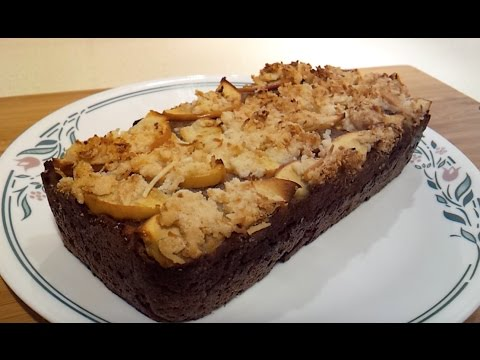 FRENCH APPLE PIE BREAD (Paleo / Low Carb / Gluten Free)