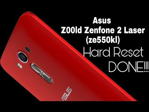 Asus Z00ld Zenfone 2 Laser (ze550kl) hard reset done 2017!!!