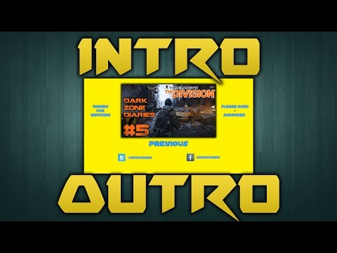 How To YouTube #3 | Creating Your Own Intro + Outro