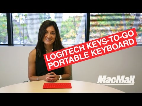 Logitech Keys-To-Go Portable Keyboard for iPad/iPad Air/iPad mini/iPhone/Apple TV Overview – MacMall
