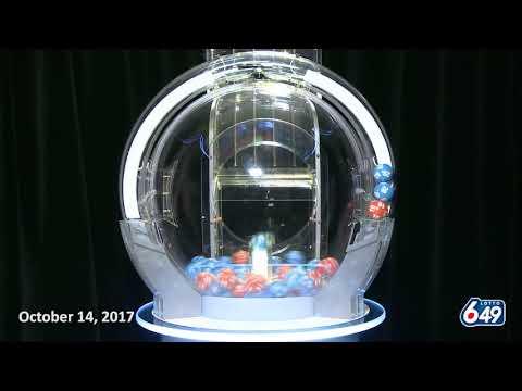 Lotto 649 Draw October 14, 2017