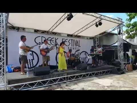 Greek festival in Honalulu   band from San Fran