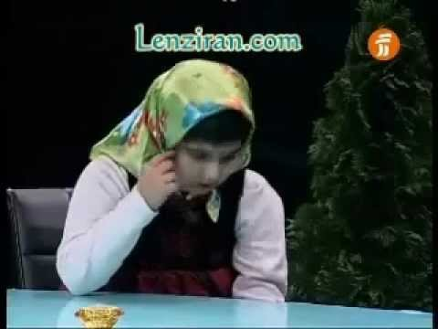Brilliant  skill of little Iranian girl of memorizing and reading Persian poetry