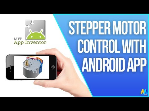 Arduino Tutorial - Stepper Motor Control via Bluetooth (with Smartphone)