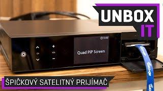 VU Plus UNO 4K SE UHD Multimedia Digital Satellite Receiver Unboxing