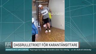 Dassrulletrixet för karantänsittare - Malou Efter tio (TV4)