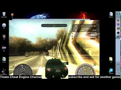 Need for Speed: Most Wanted 2005 Cash & nitrous Cheat Tmato Cheat Engine