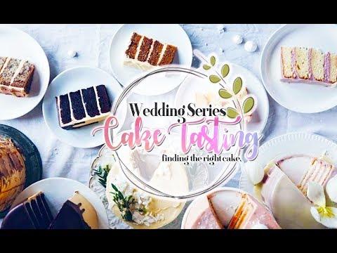 Wedding Cake Tasting Vlog