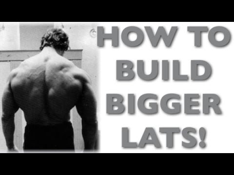 How To Build BIGGER Lats - Latissimus Dorsi Workout