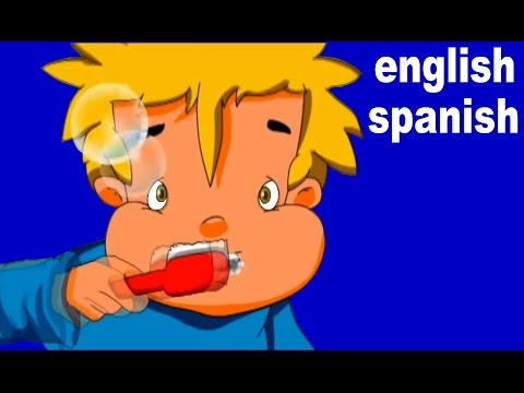 Brush your teeth  (ingles-español)