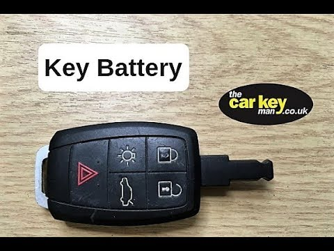 Key Battery Volvo Dash Key HOW TO