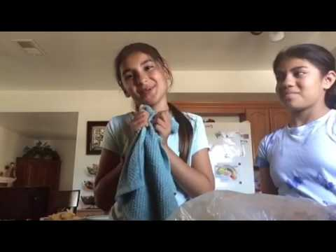 Homemade Ice Cream In A Bag || Dulce, Louisa, and Gladis