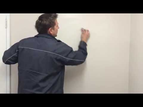 Removal of crayon/chalk from walls