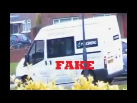 BBC TVL TV LICENCE DETECTOR VANS REAL & FAKE