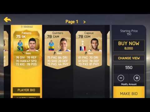 Easy coins in FIFA 15 UT on IPAD!!