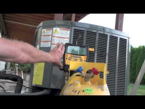Refrigerant recovery using the compressor