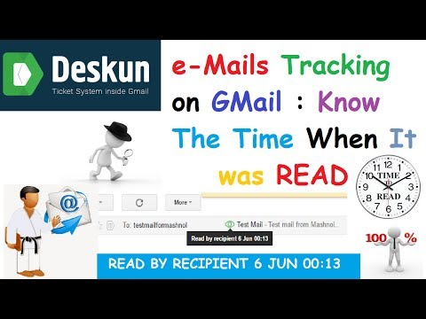 Email Tracking with GMAIL : Know Exact Time When It Was READ [2017]