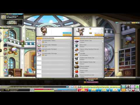 How To Get to Commerci MapleStory GMS (Lvl 160 equips)