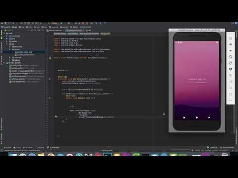 how to use AndroidViewAnimations library