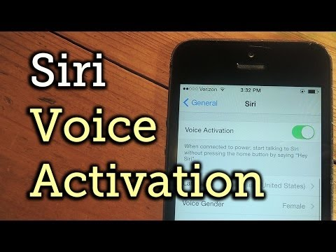 Activate Siri Without Lifting a Finger on the New iOS 8 [How-To]