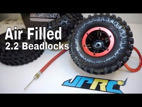 Austar Air Filled 2.2 Beadlock Rock Crawling Tire System