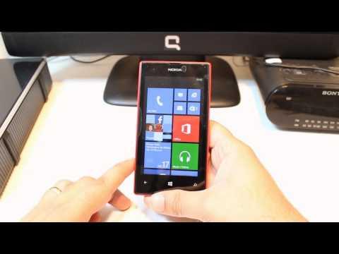 Language changing to Nokia Lumia 520